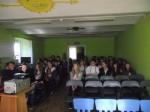 Spotkanie z R.Pankiewiczem - gimnazjum (2)